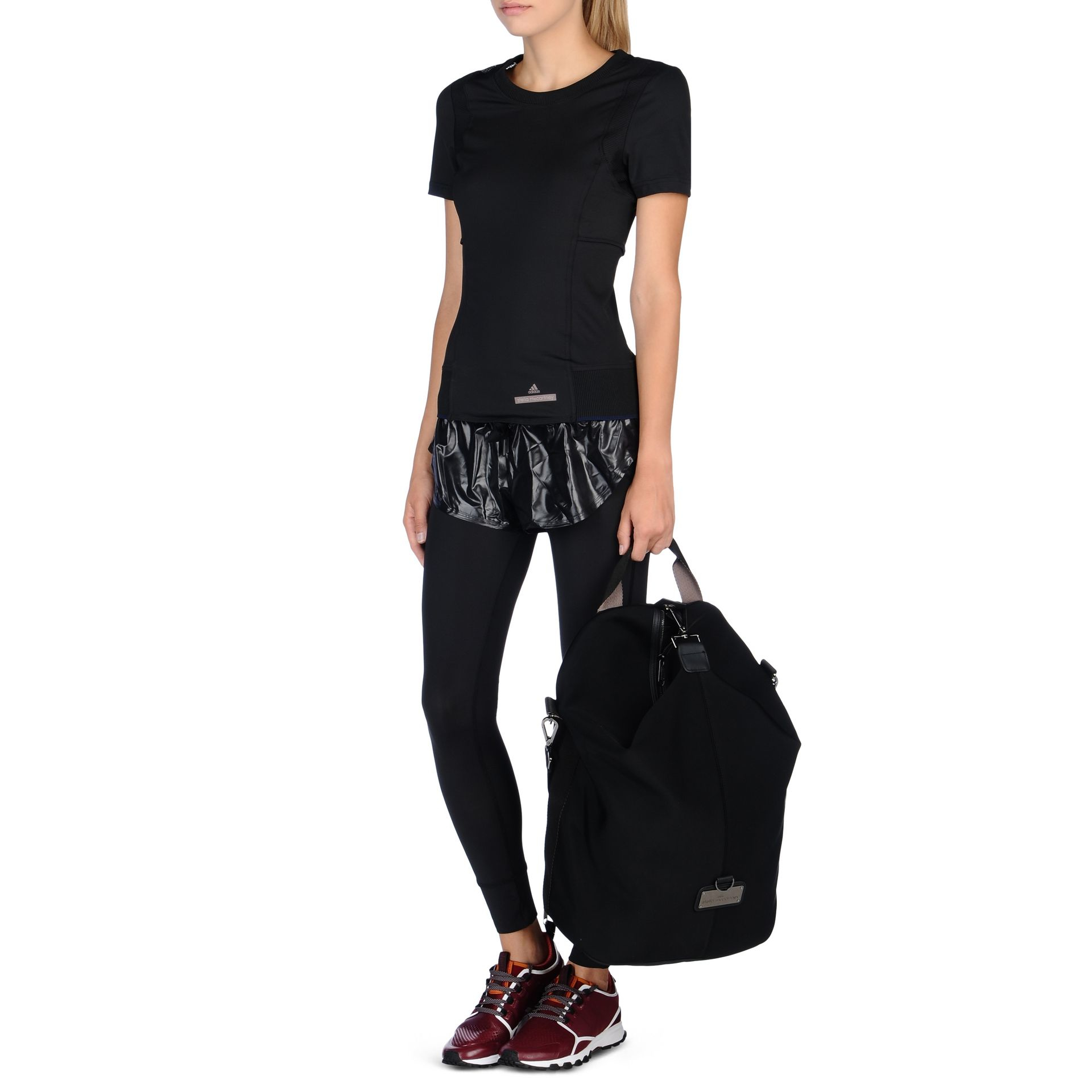 bfd59d2953fc Lyst - adidas By Stella McCartney Studio Neoprene Backpack in Black