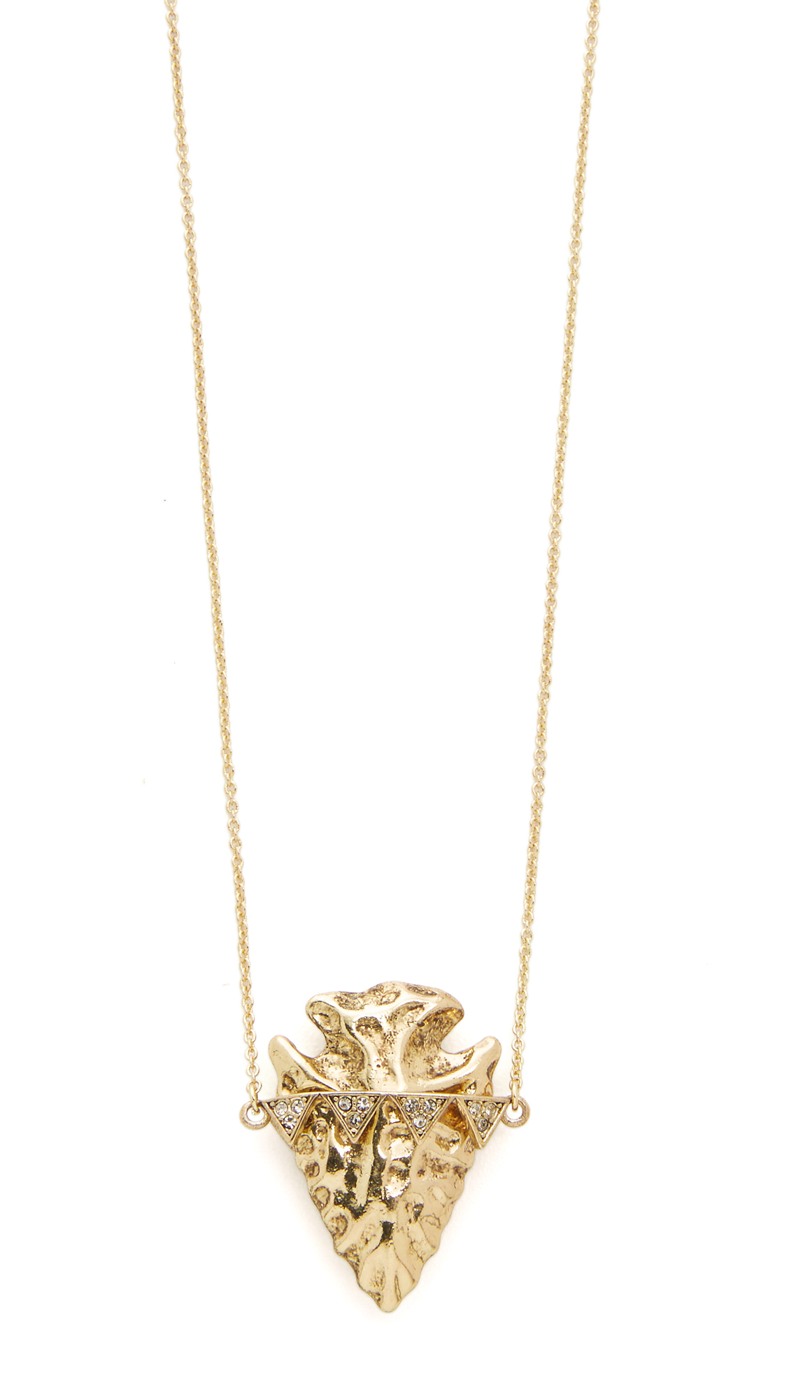 House of harlow 1960 Mojave Pendant Necklace in Metallic ...