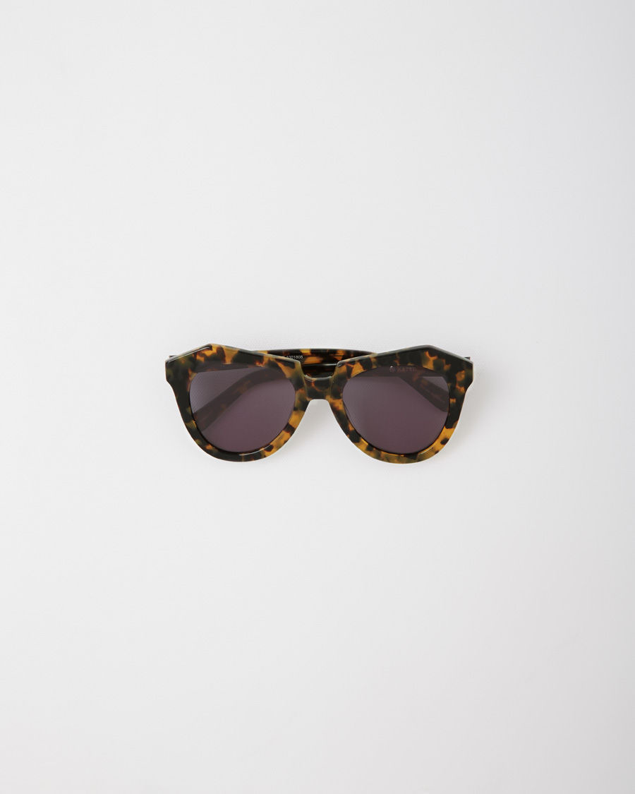 726e9a5f8c37 Lyst - Karen Walker Number One Sunglasses in Brown