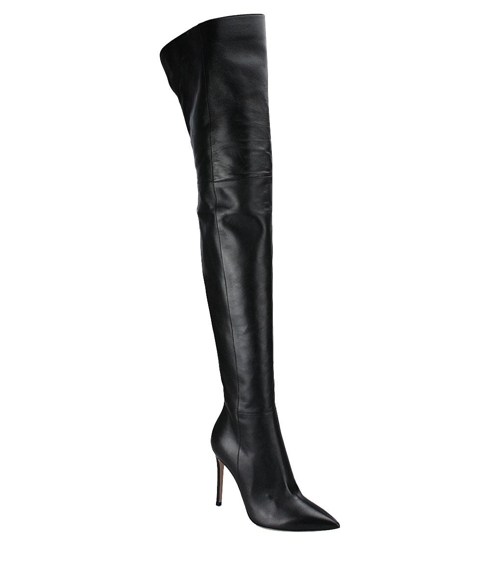 Overknees G80698 nappa leather black Gianvito Rossi Discount Huge Surprise 6yaTs0zfJ