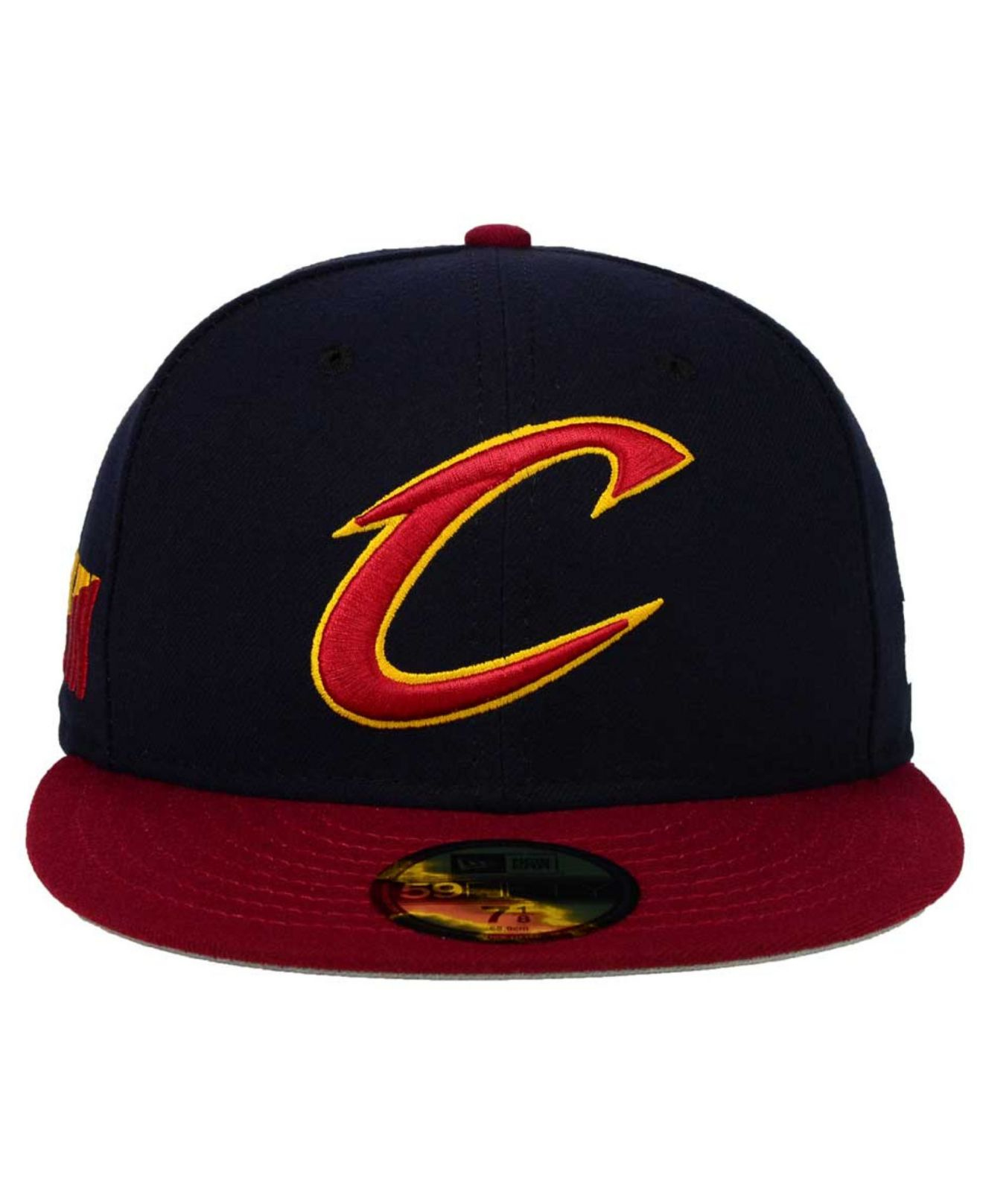 Lyst - KTZ Cleveland Cavaliers Side Hit 59fifty Cap in Blue for Men a2a473c30cae