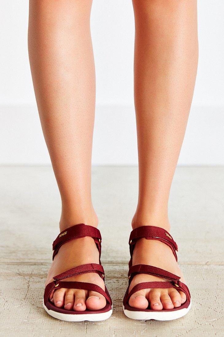 abff964859a4 Lyst - Teva Verra Sandal in Purple