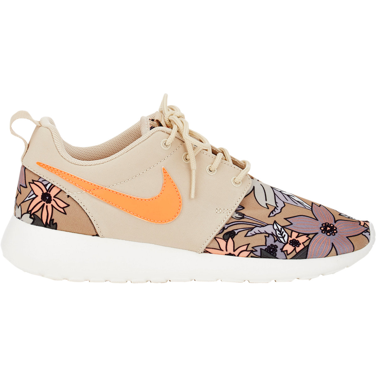 199c4a83f4cc Lyst - Nike Women s Roshe One Print Premium Sneakers in Natural