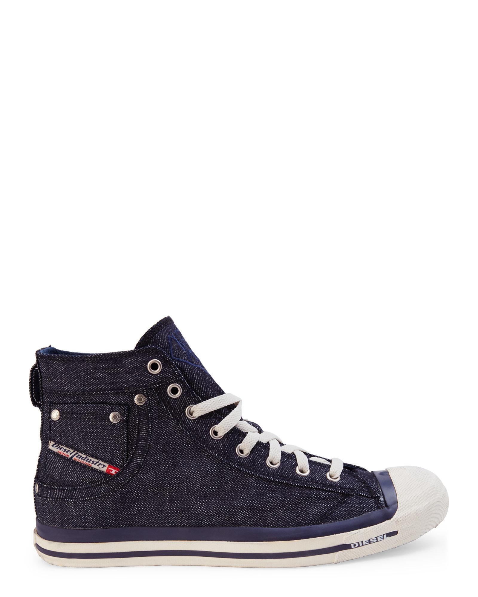 EXPOSURE - Sneaker high - indigo hajzDnu6