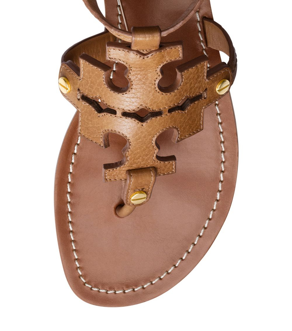 268b90d7c1851 Lyst - Tory Burch Phoebe Flat Thong Sandal in Brown