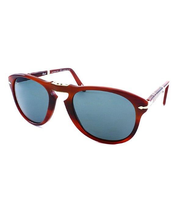 f00baec8629 Persol Po 714 Steve Mcqueen 957 4n Rectangle Foldable Sunglasses ...