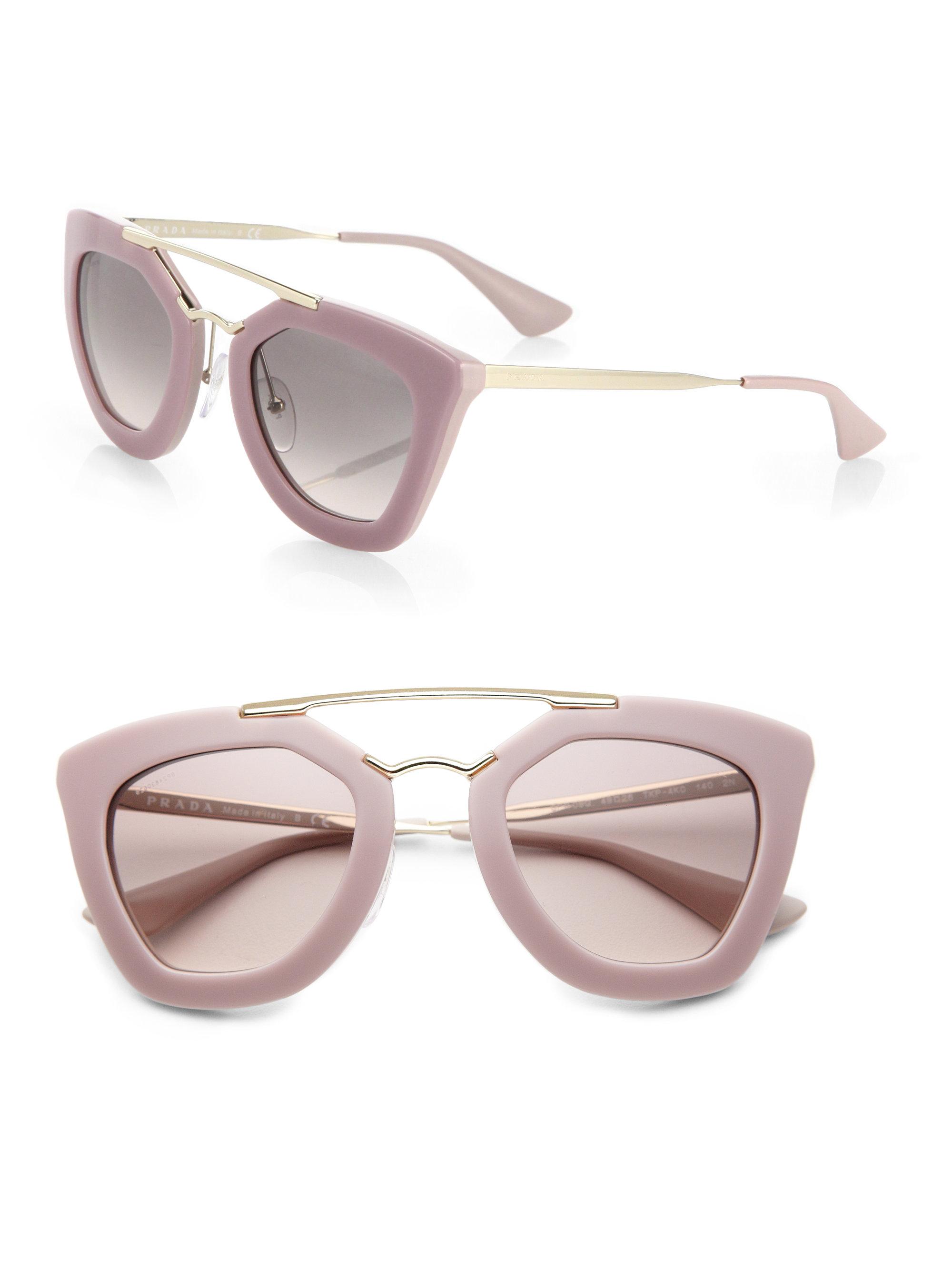 prada pink sunglasses