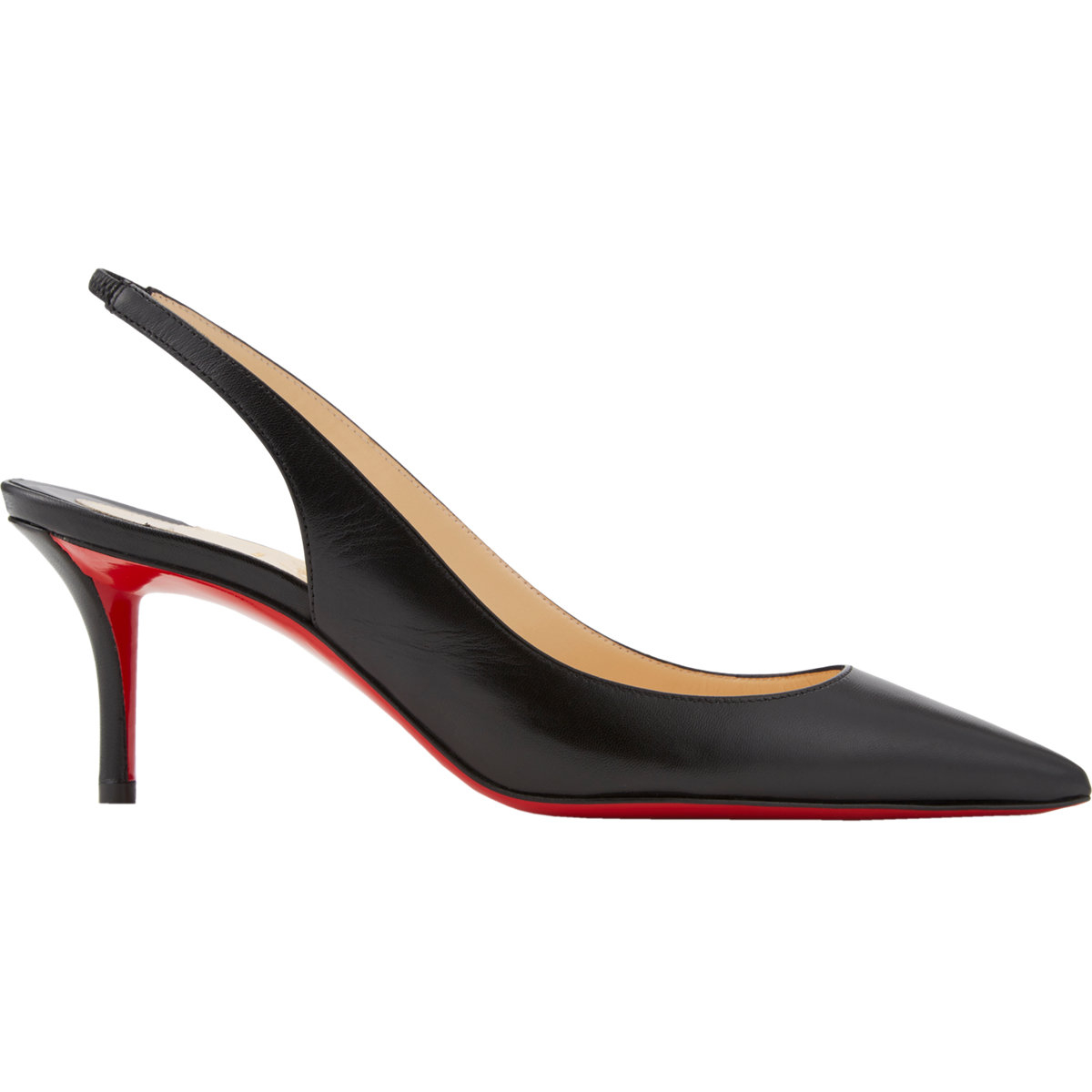 cheap knock off shoes - christian-louboutin-black-apostrophy-slingback-pumps-product-1-449766450-normal.jpeg