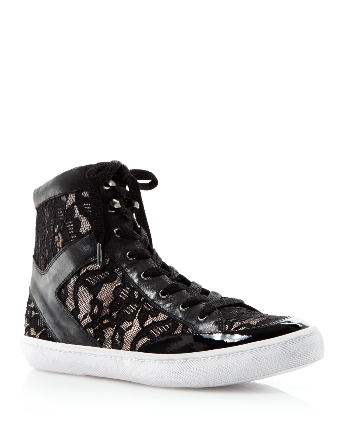 buy cheap collections clearance discounts Rebecca Minkoff Ponyhair High-Top Sneakers 204fNLwEaR