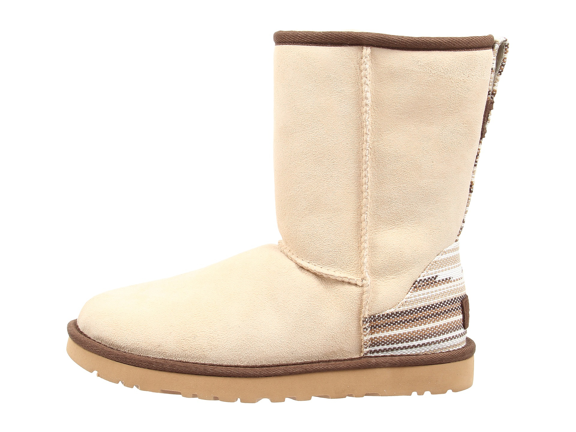6a7c1f1764ec1a ... hot lyst ugg classic short serape in natural 99c95 19fb8