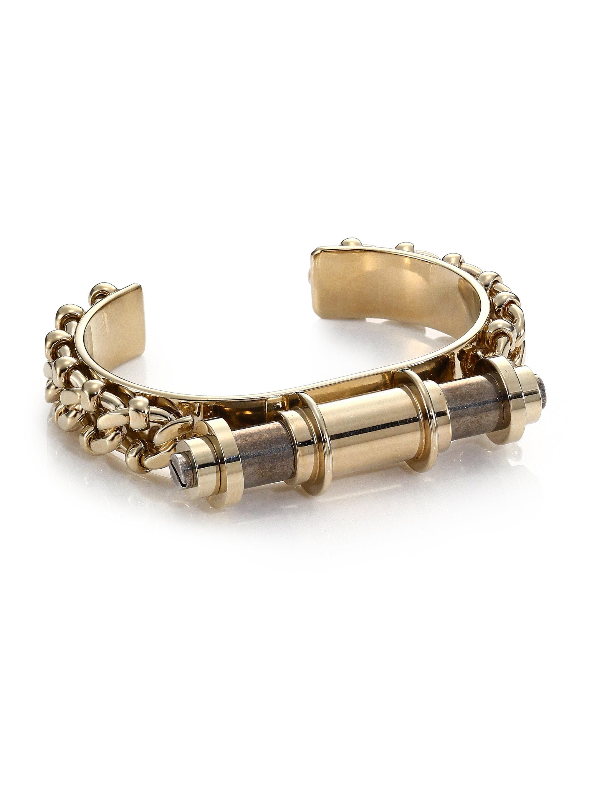 Gallery Lyst Givenchy Obsedia Bar Cuff Bracelet
