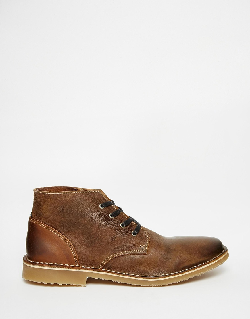 Desert boot - Navy Jack & Jones xL4a8Ozr6