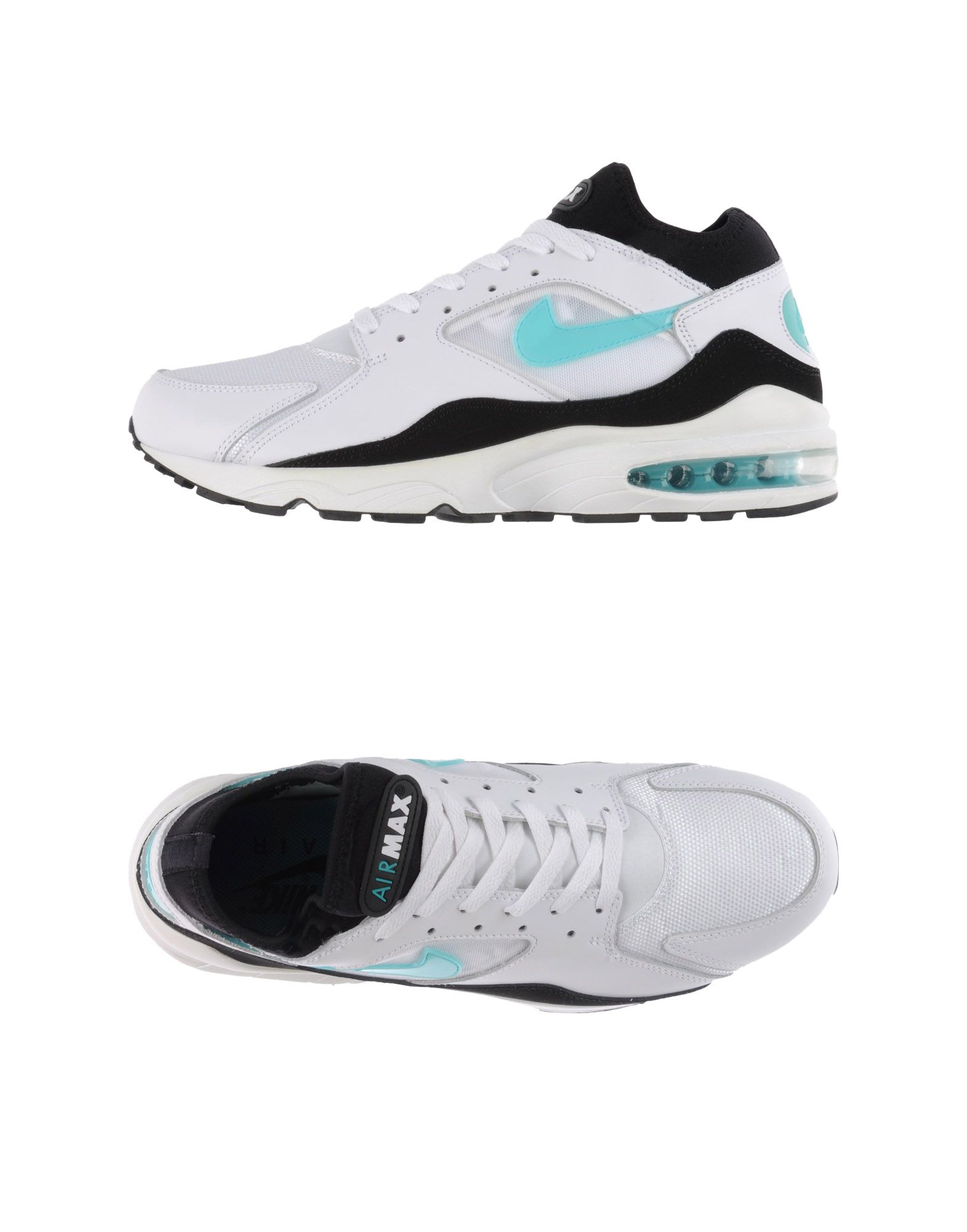 nike low tops trainers in blue for lyst