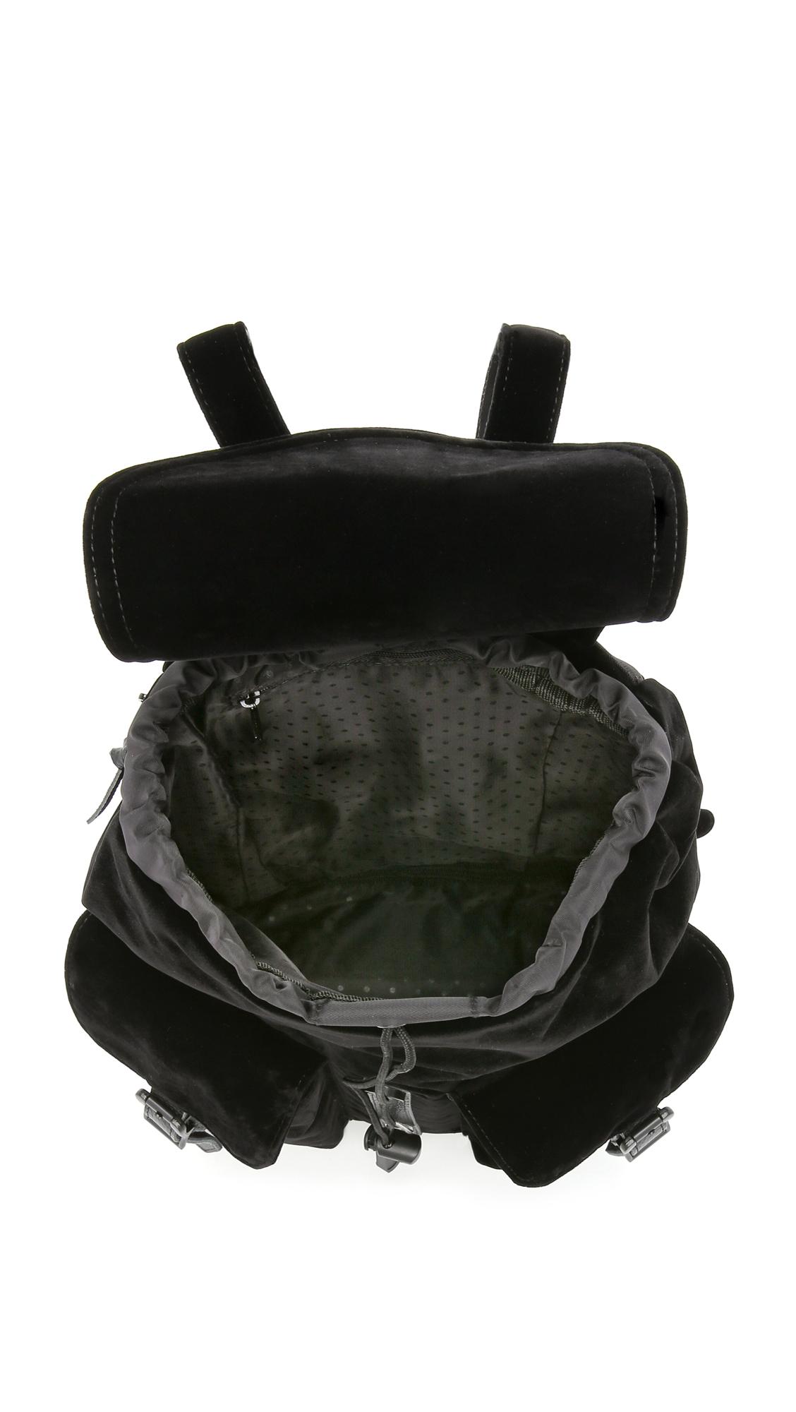 303caaf55f Lyst - Herschel Supply Co. Velvet Dawson Backpack - Black in Black