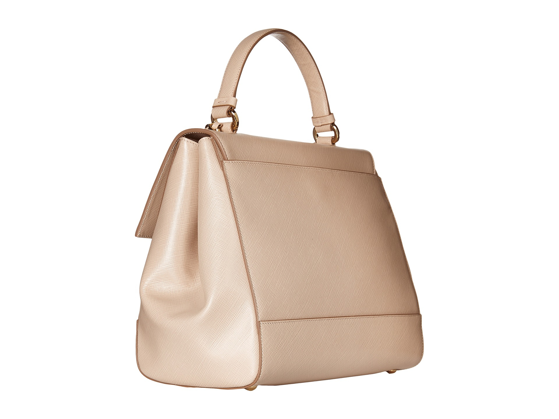 5958fb29a6a Lyst - Ferragamo Carrie 21f558 in Natural
