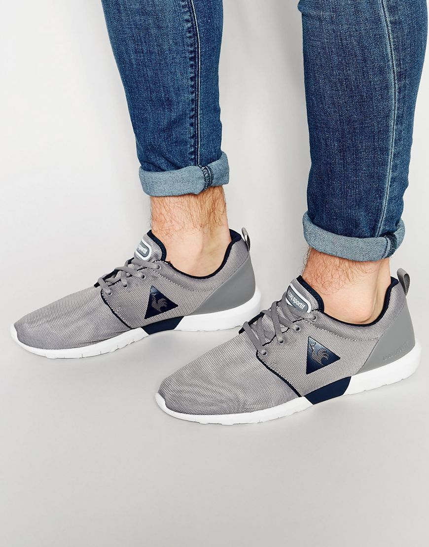 le coq sportif dynacomf sneakers in gray for men lyst. Black Bedroom Furniture Sets. Home Design Ideas