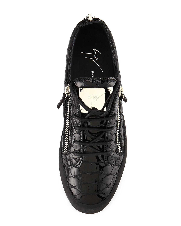 2482679339f0 Lyst - Giuseppe Zanotti Mens Low-top Sneaker in Black for Men