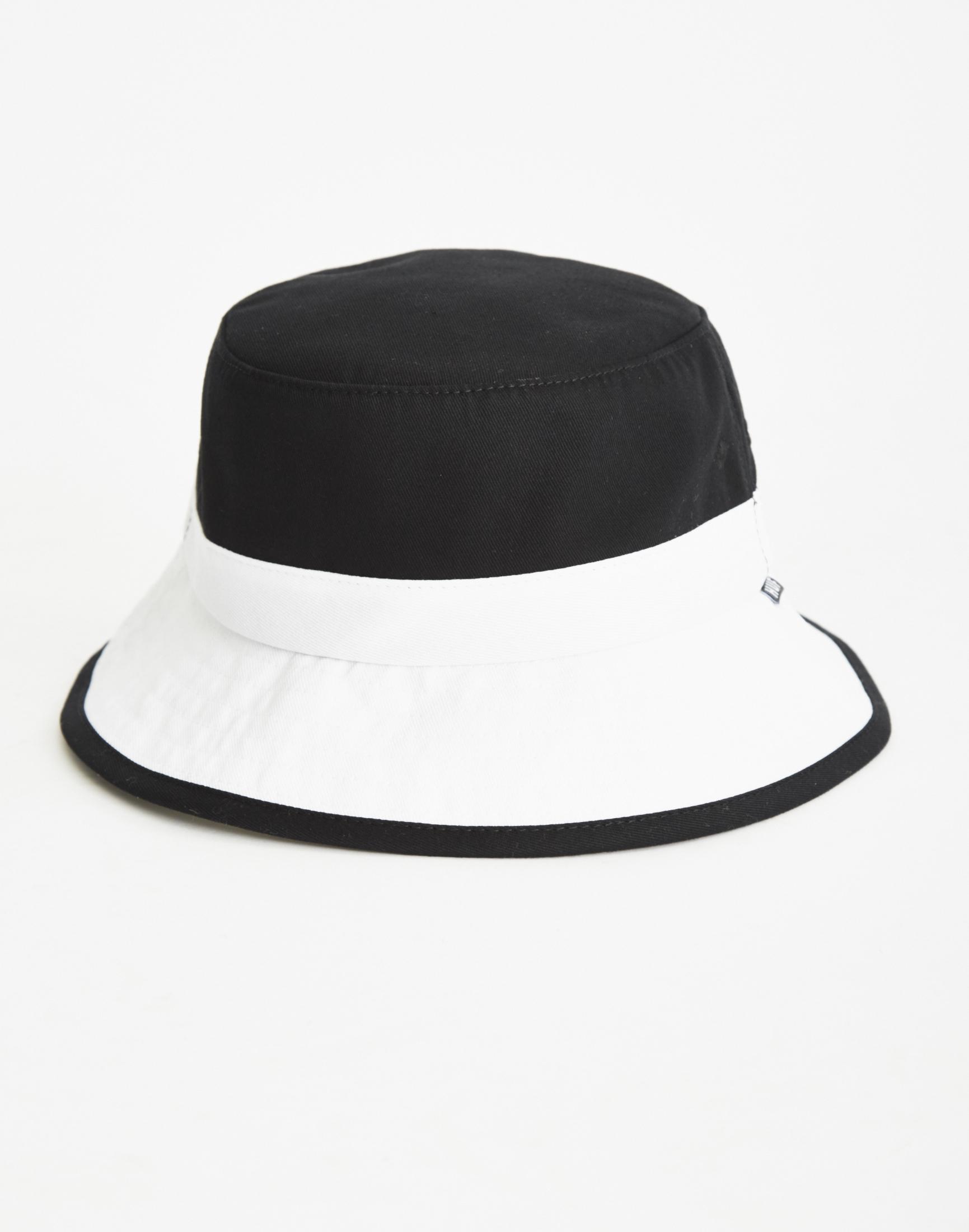 821cc88f696 ... sale huf colourblock bucket hat black white for men lyst 8fc5e d0e3c