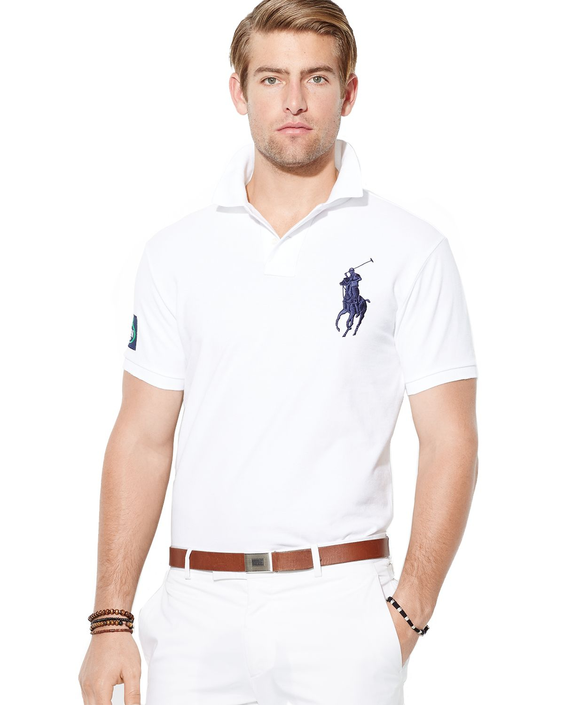 Ralph Lauren Fashion Show At New York: Ralph Lauren Polo Us Open Custom Big Pony Polo Shirt Slim
