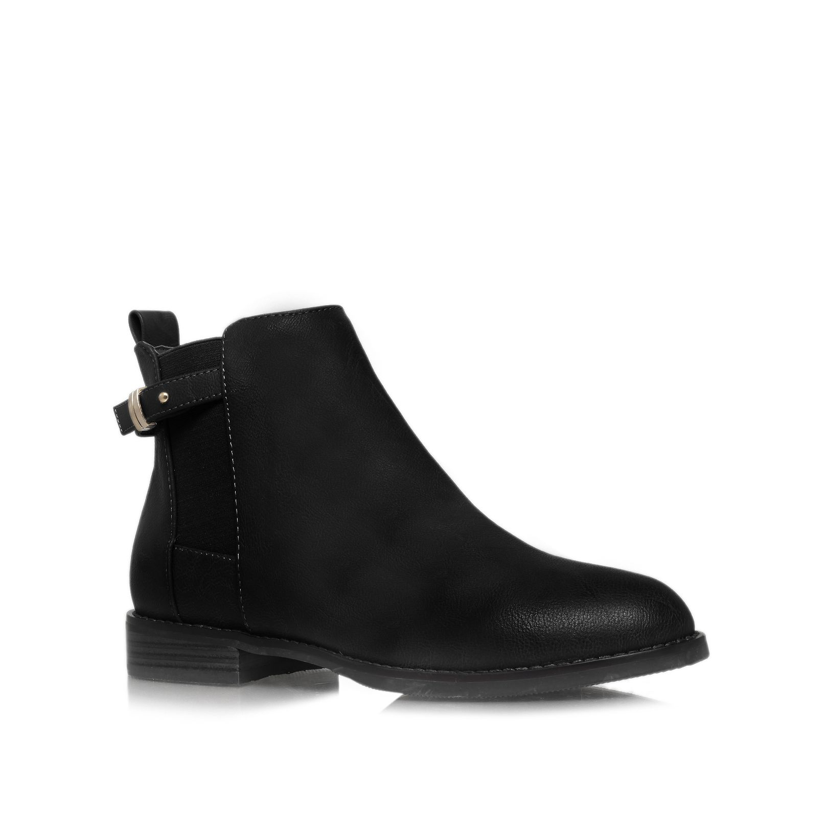 black flat ankle boots how to wear