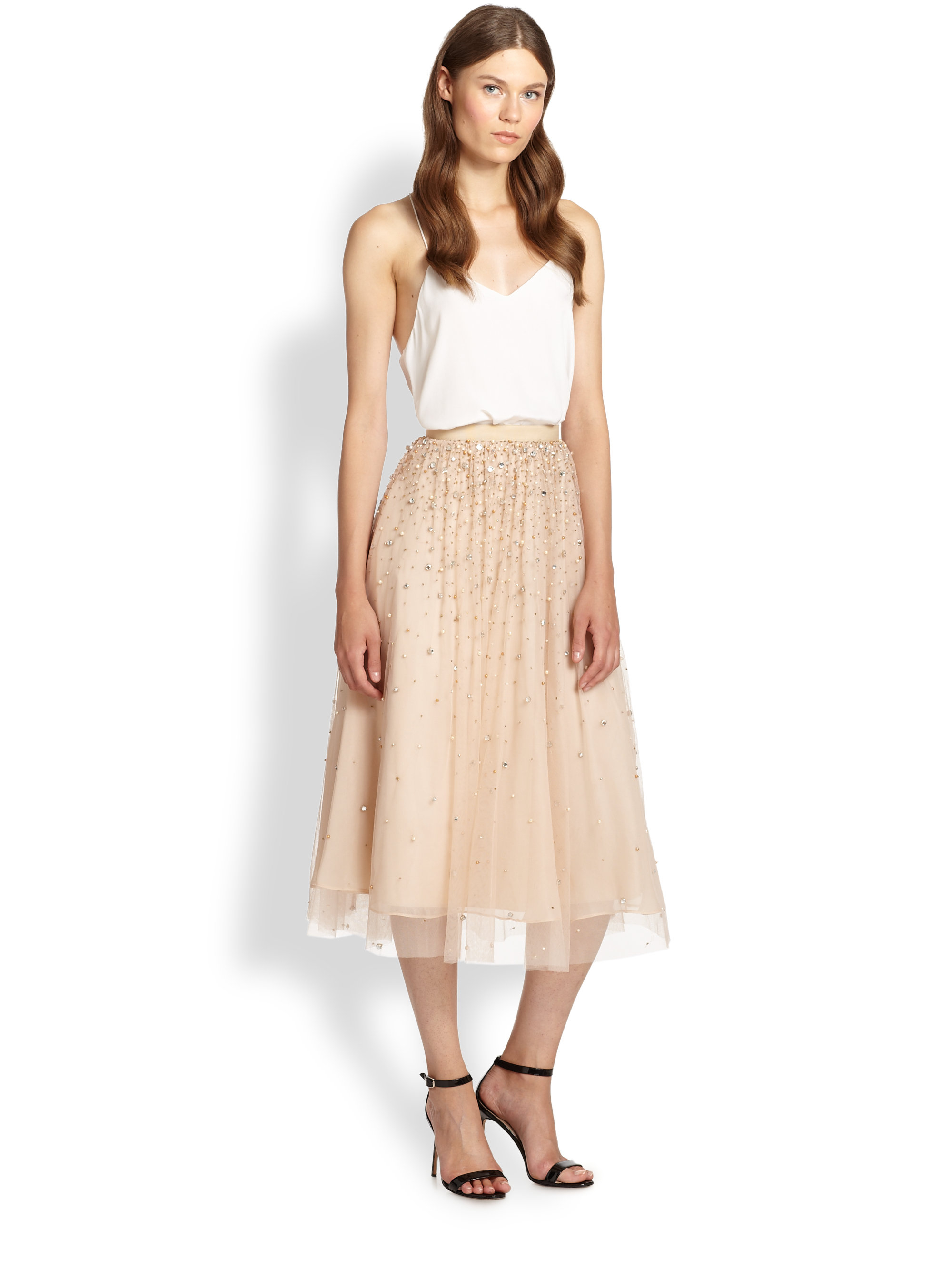 2e80926bac Gallery. Previously sold at: Saks Fifth Avenue · Women's Tulle Skirts