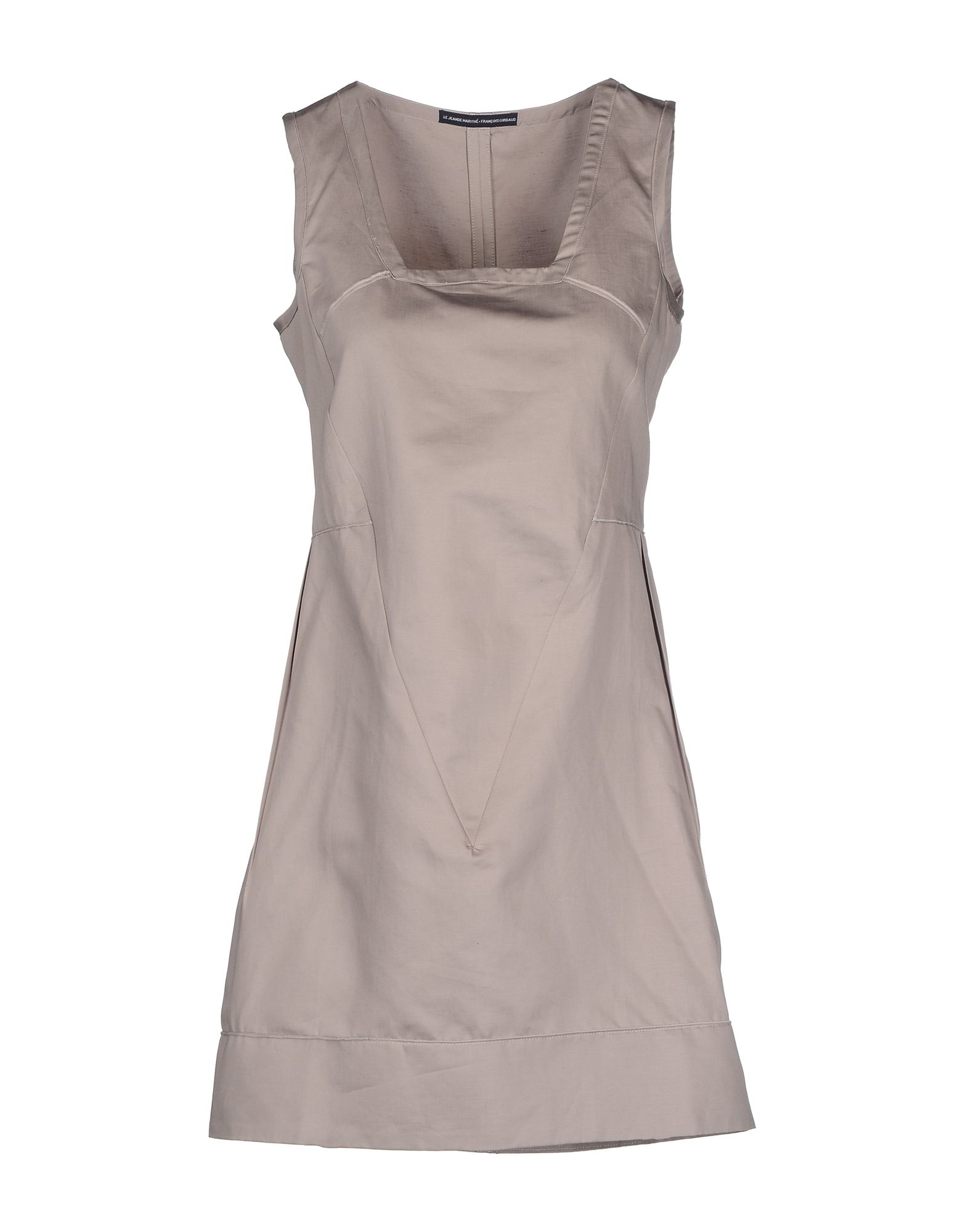 le jean de marith fran ois girbaud short dress in gray dove grey save 50 lyst. Black Bedroom Furniture Sets. Home Design Ideas