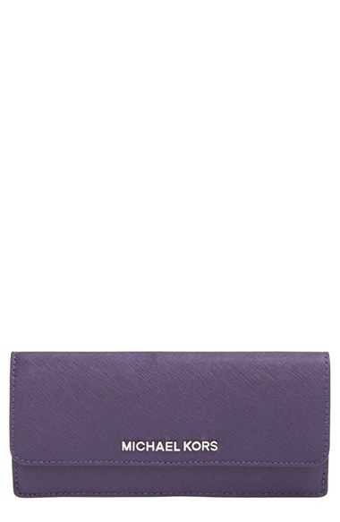 f8c31b48f80b71 michael kors purple leather wallet light pink handbag - Marwood ...