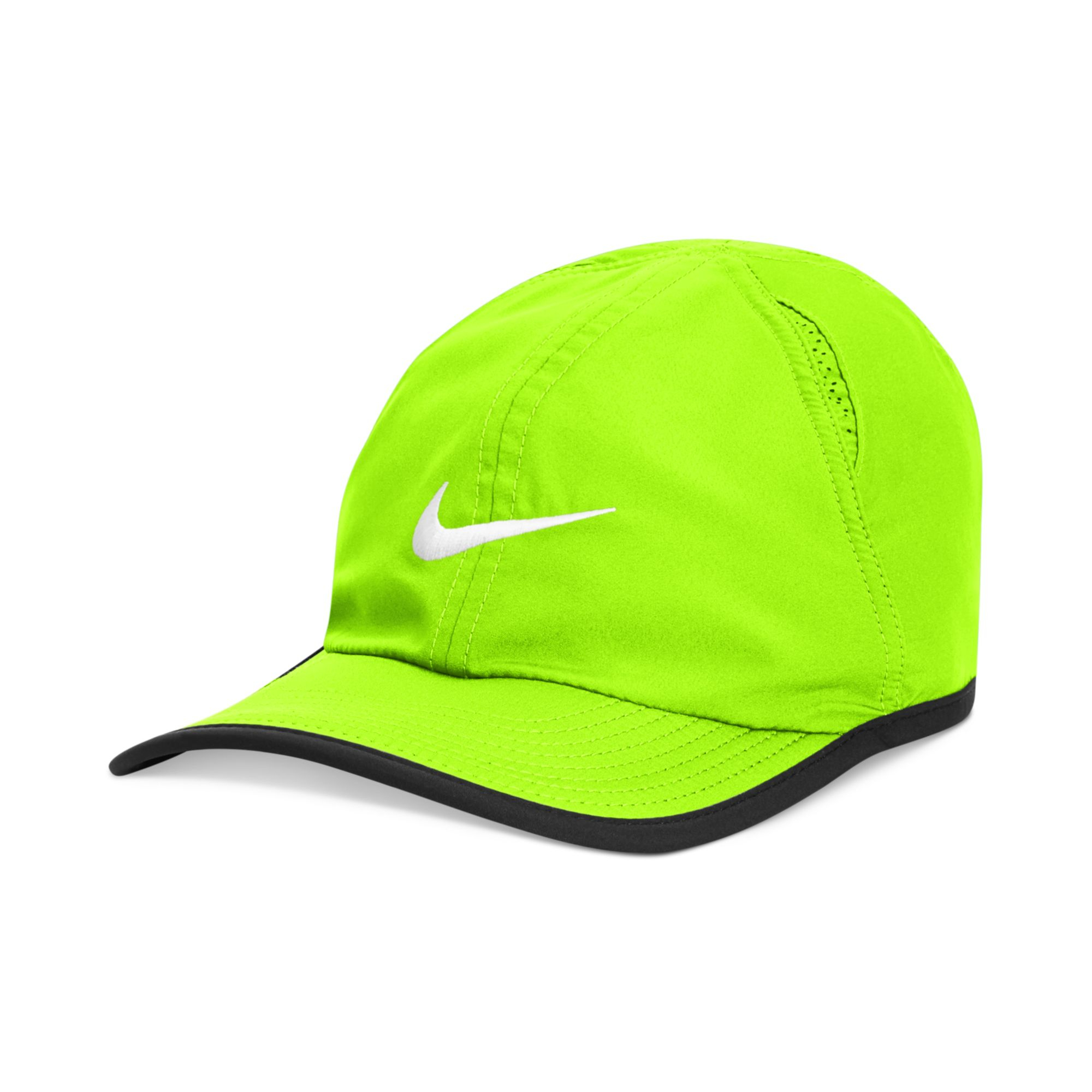 f53902d453256 ... free shipping lyst nike drifit featherlight performance hat 20 in green  for men fba27 fca15