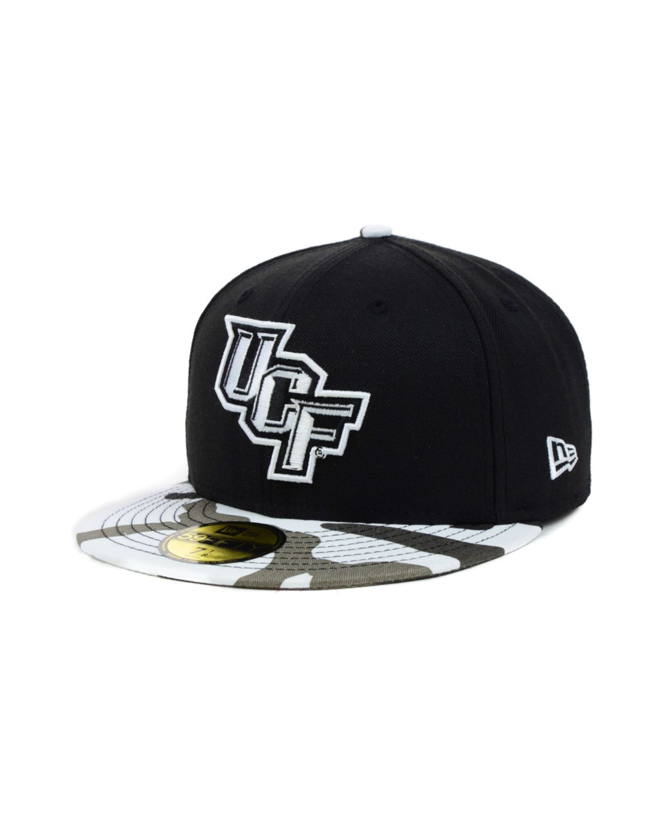 9e534a8729d Lyst - KTZ Ucf Knights Urban Camo 59Fifty Cap in Black for Men