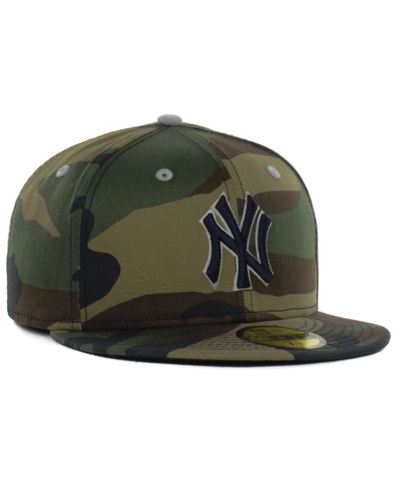 8a2dce7fb5a ... official store lyst ktz new york yankees mlb camo pop 59fifty cap in  green for men