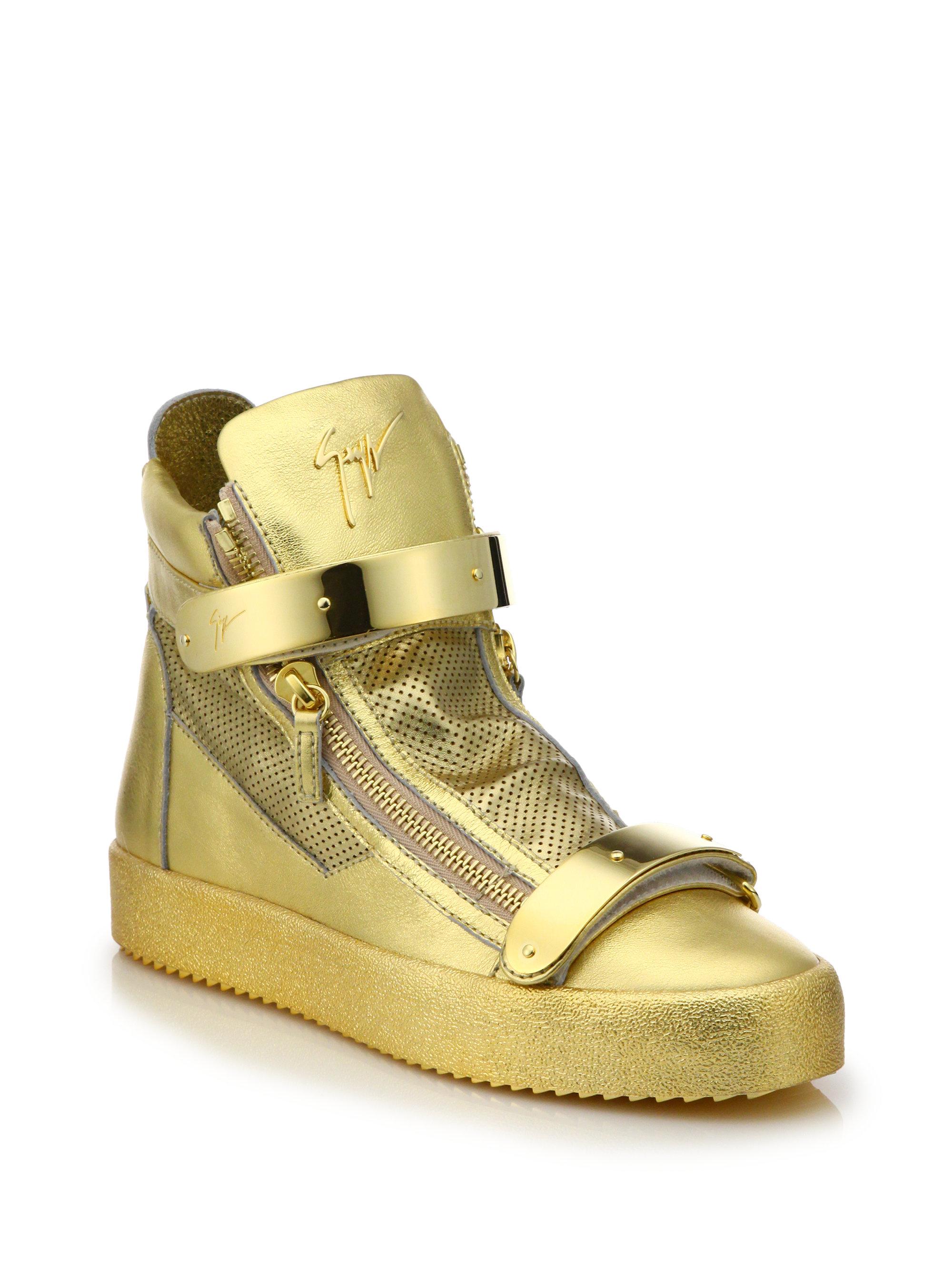 yellow giuseppe zanotti sneakers for women