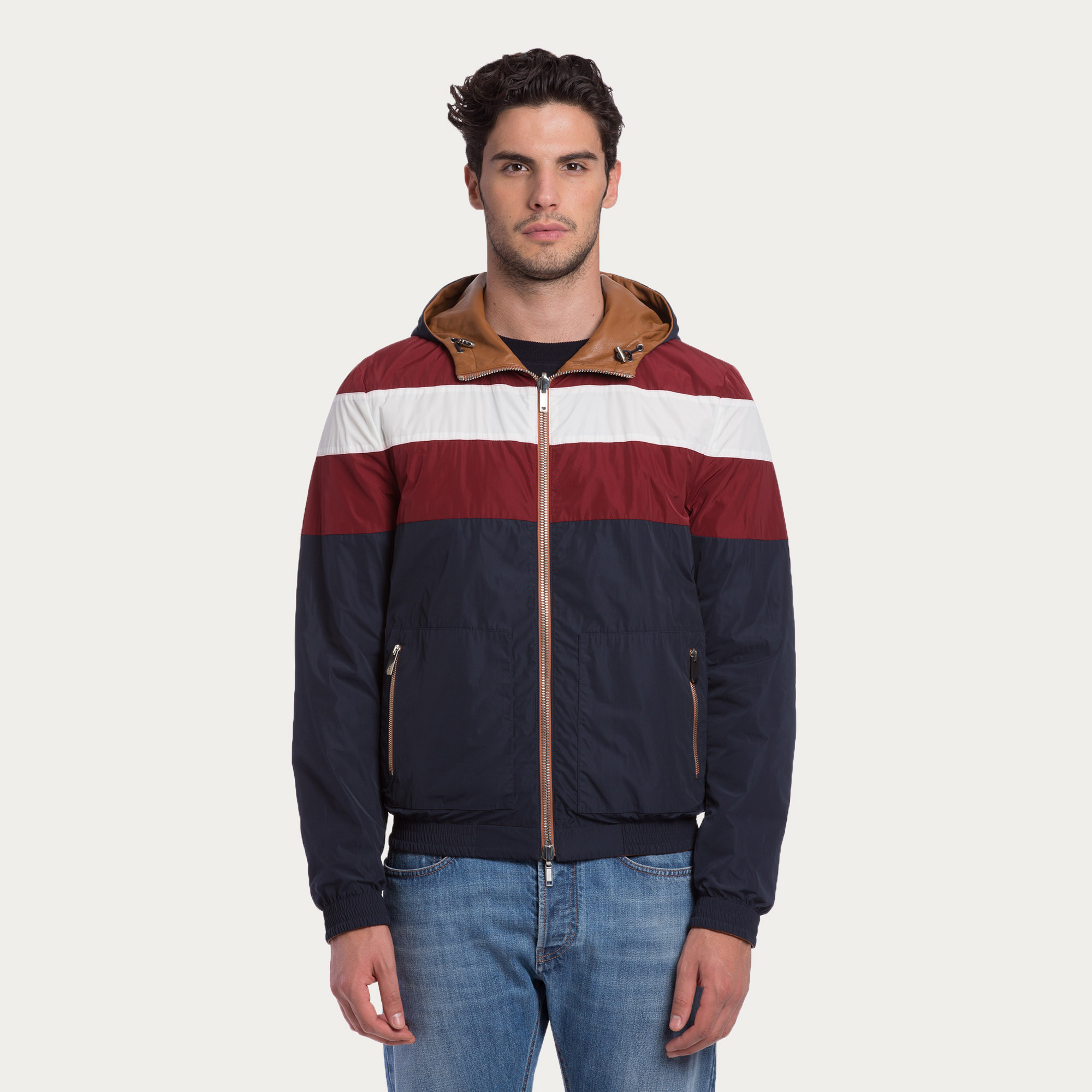 Bally Reversible Leather Jacket In Brown For Men Tan Lyst