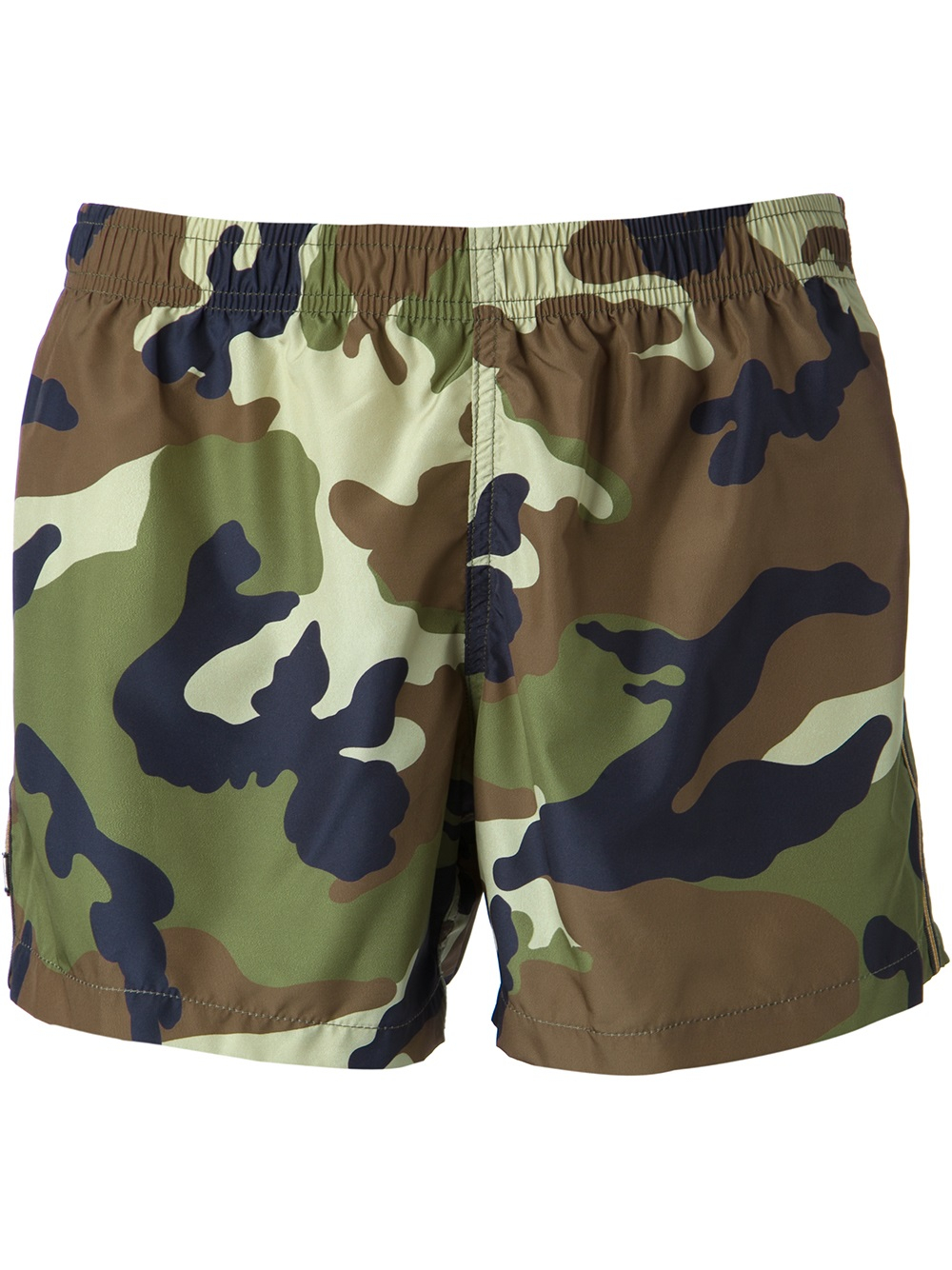 Lyst - Dondup Camouflage Swim Shorts in Green for Men 2d7bcbbd7