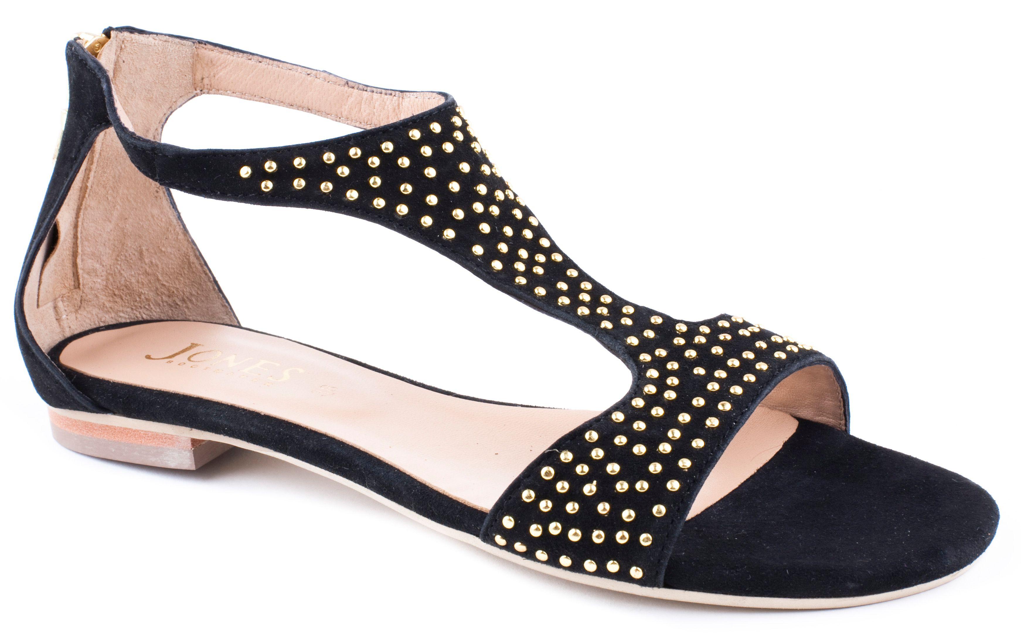 Black sandals jones - Gallery