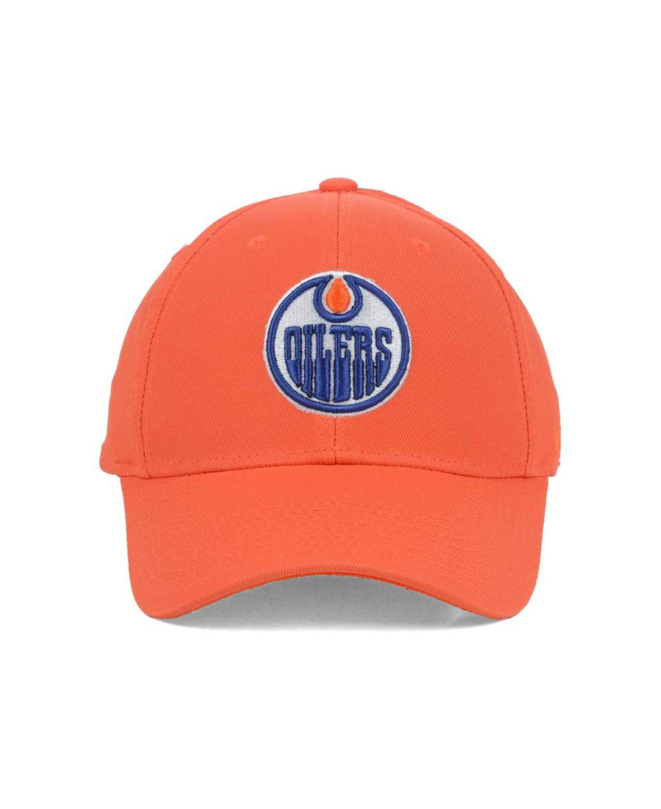 Lyst - Reebok Edmonton Oilers Hat Trick Cap in Orange for Men 57005d81af1