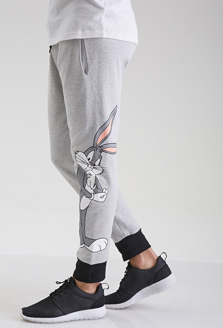 c96283fb6d5ae3 Forever 21 Bugs Bunny Sweatpants in Gray for Men - Lyst