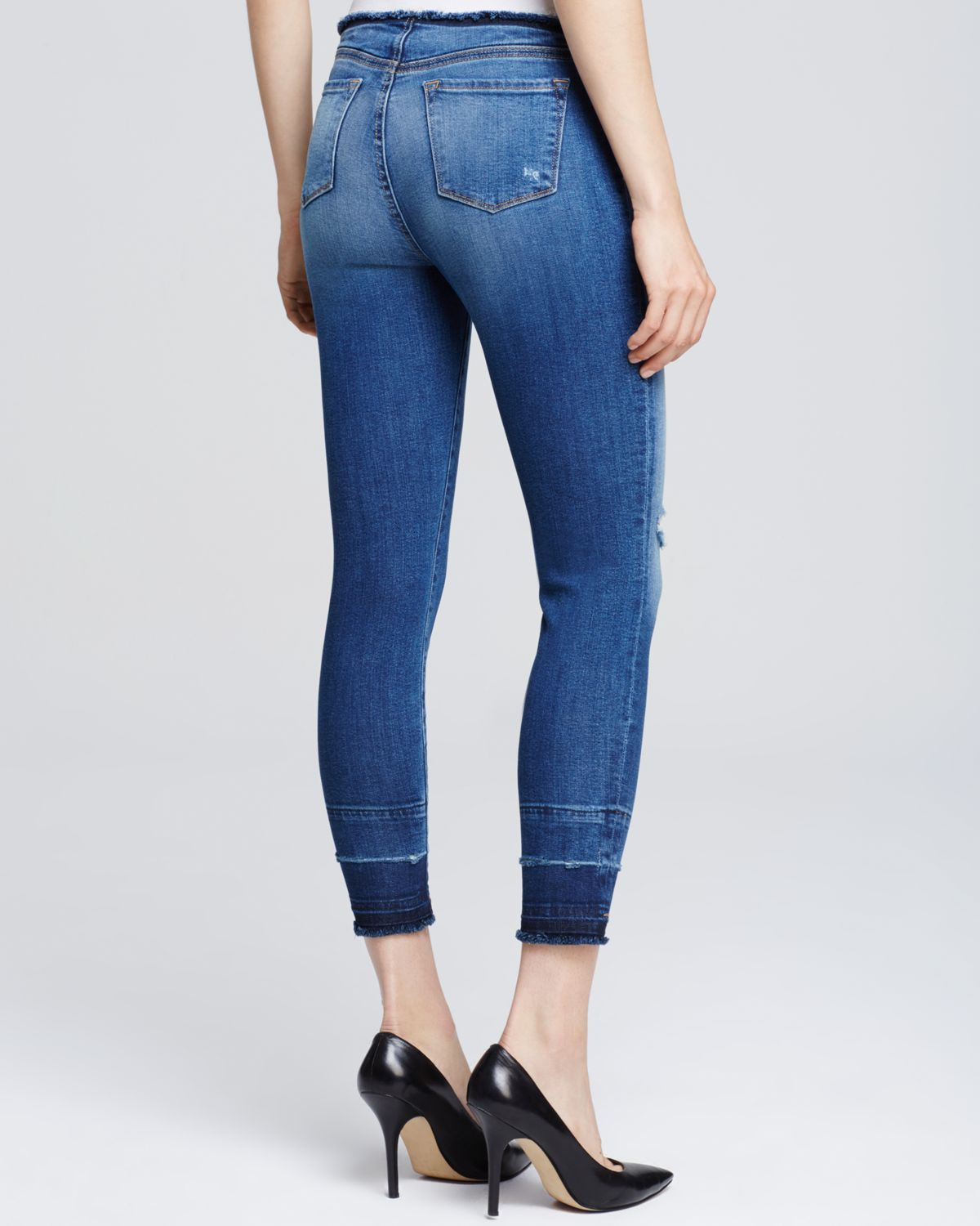 The jeans were more tight fitting and were not as comfy as other skinny jeans I've ordered. I'll consider spending more on a specific look next time because I wore them once. That uncomfortable tight fit at the hips has brought me to donate the jeans.2/5(1).