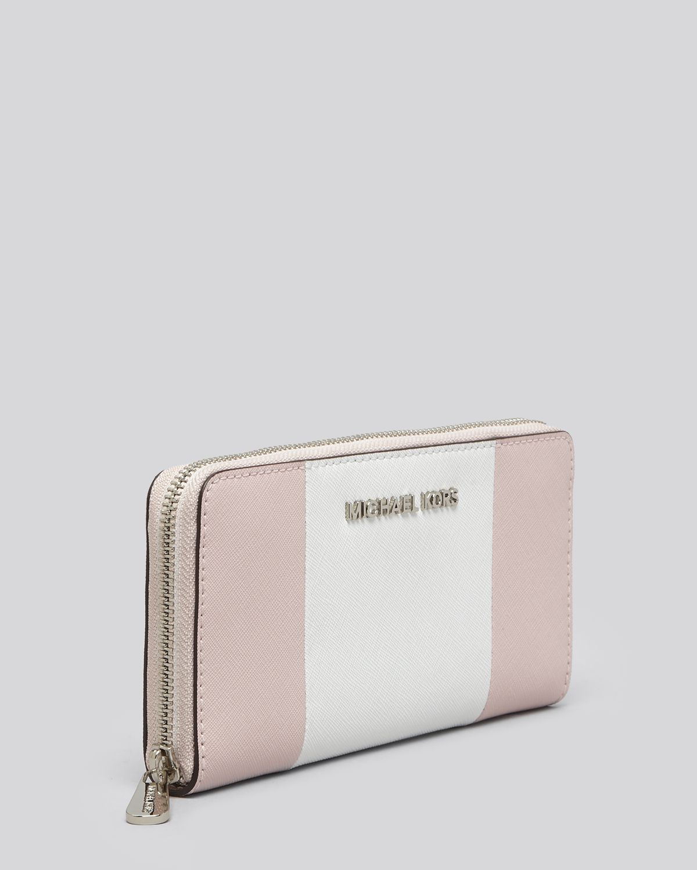 a373b1d99527 ... low price lyst michael michael kors wallet bloomingdales exclusive zip  4e784 2f958 ...
