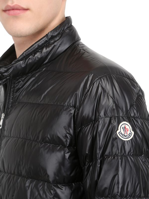 fd5dbe0f1 Lyst - Moncler Acorus Nylon Light Weight Down Jacket in Black for Men