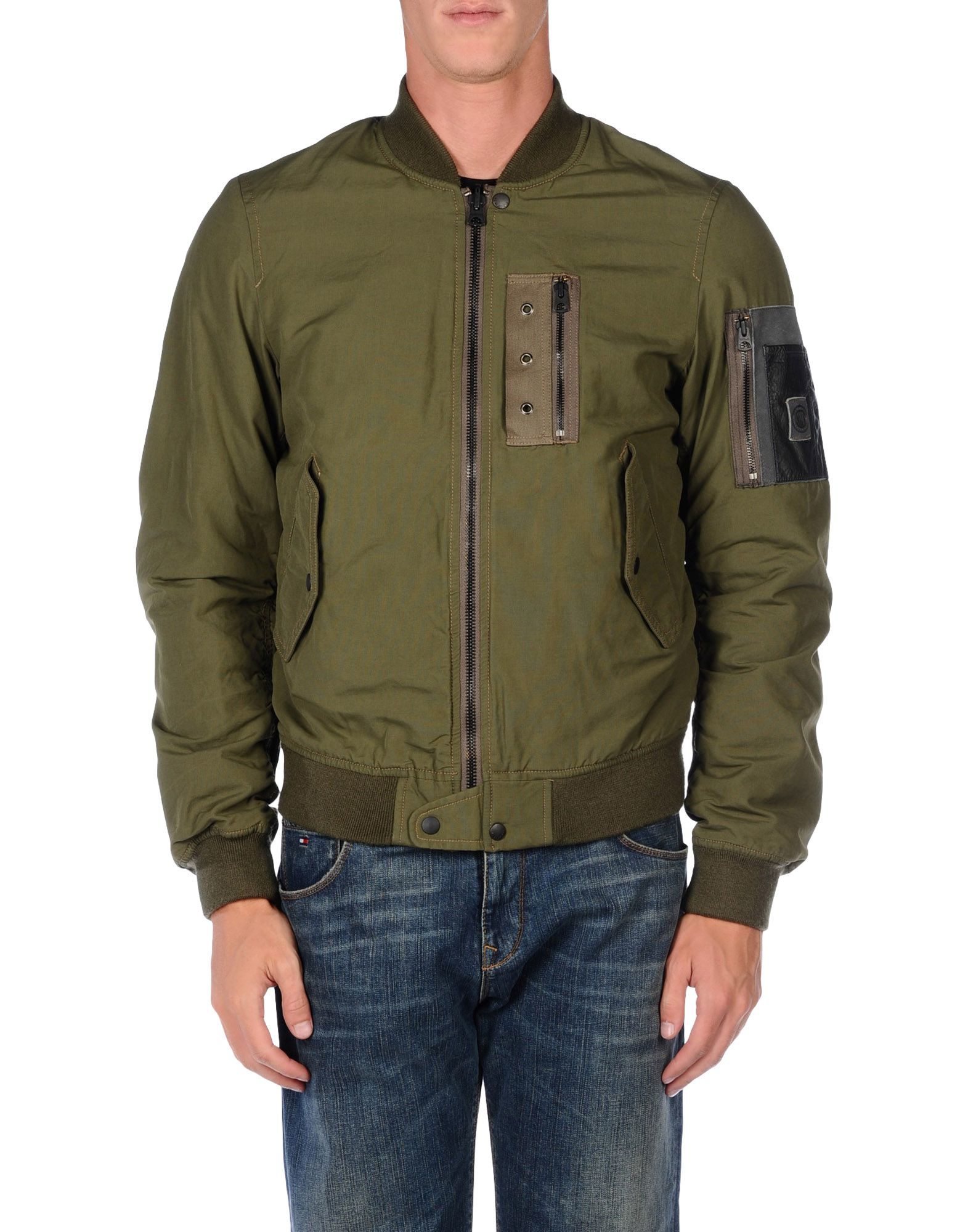 Replay Jacket In Green For Men Lyst