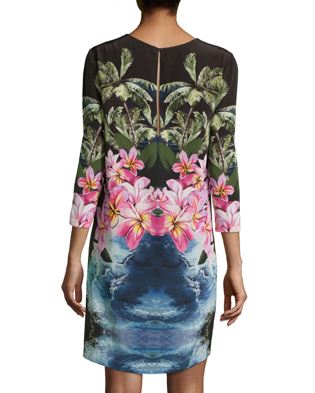 Shop For Online Stella McCartney Tropical print dress Sale 100% Guaranteed Buy Cheap Latest Buy Cheap Brand New Unisex S4Tk6EItp