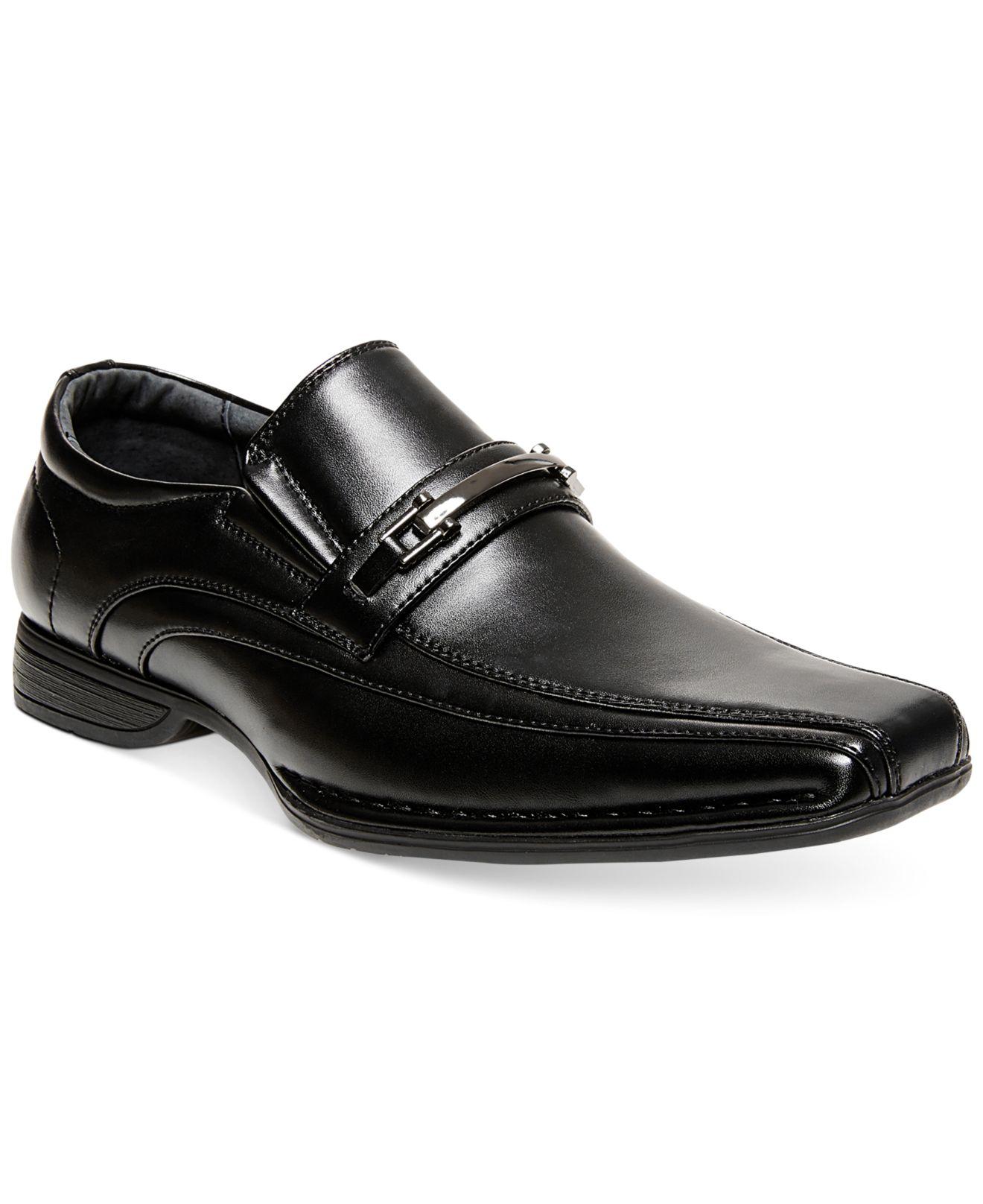 3fa8849df5e ... Lyst Steve Madden Madden Talon Dress Slip on Shoes in Black for Men