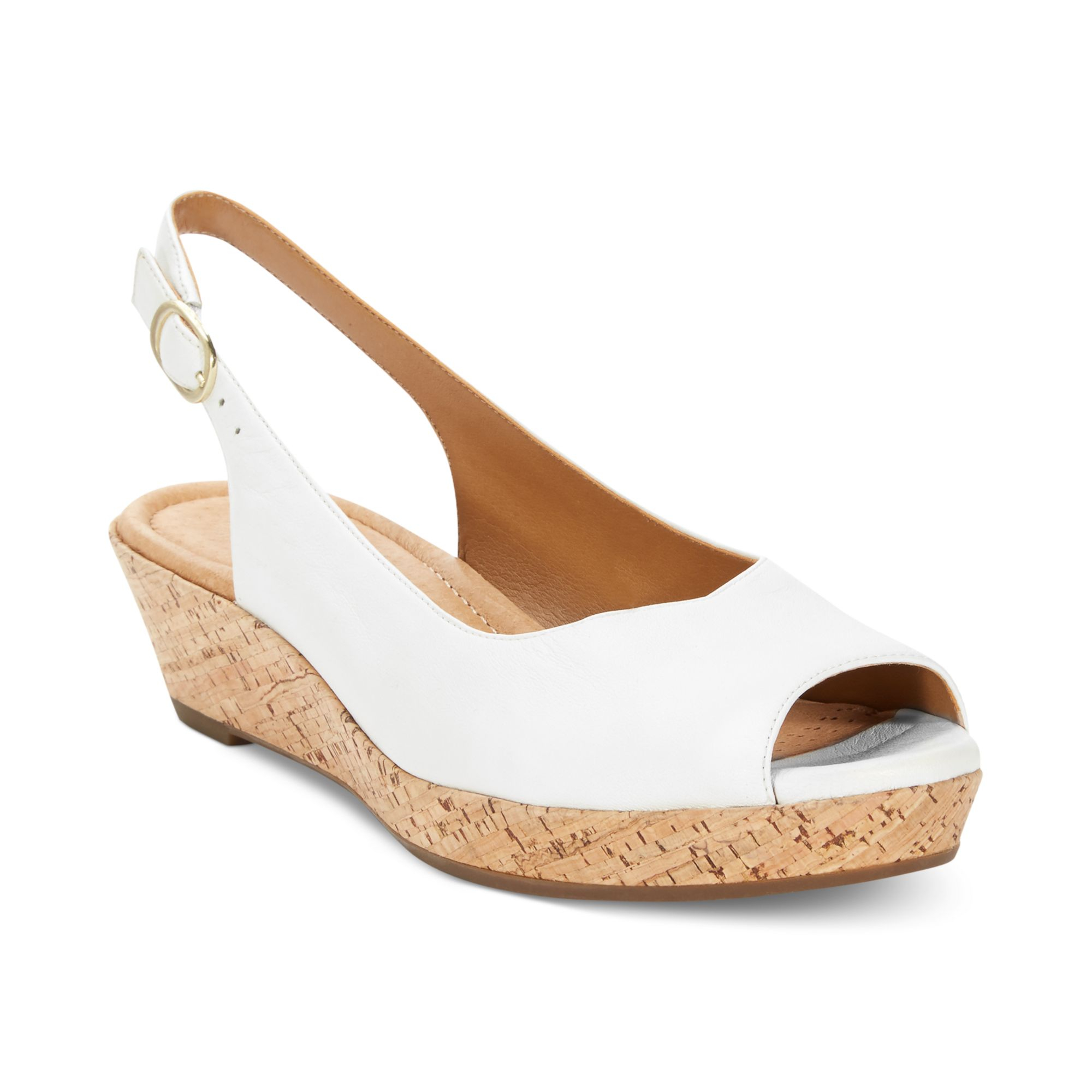 Simple Wear Anything And Go Anywhere With Clarks&174 Womens Caslynn Shea Wedge Sandals Dont Let This Shoes 3&188&quot Wedge Heel Fool You  Caslynn Shea Has Been Designed With Comfort In Mind Soft, Nubuck Leather Uppers Criss Cross