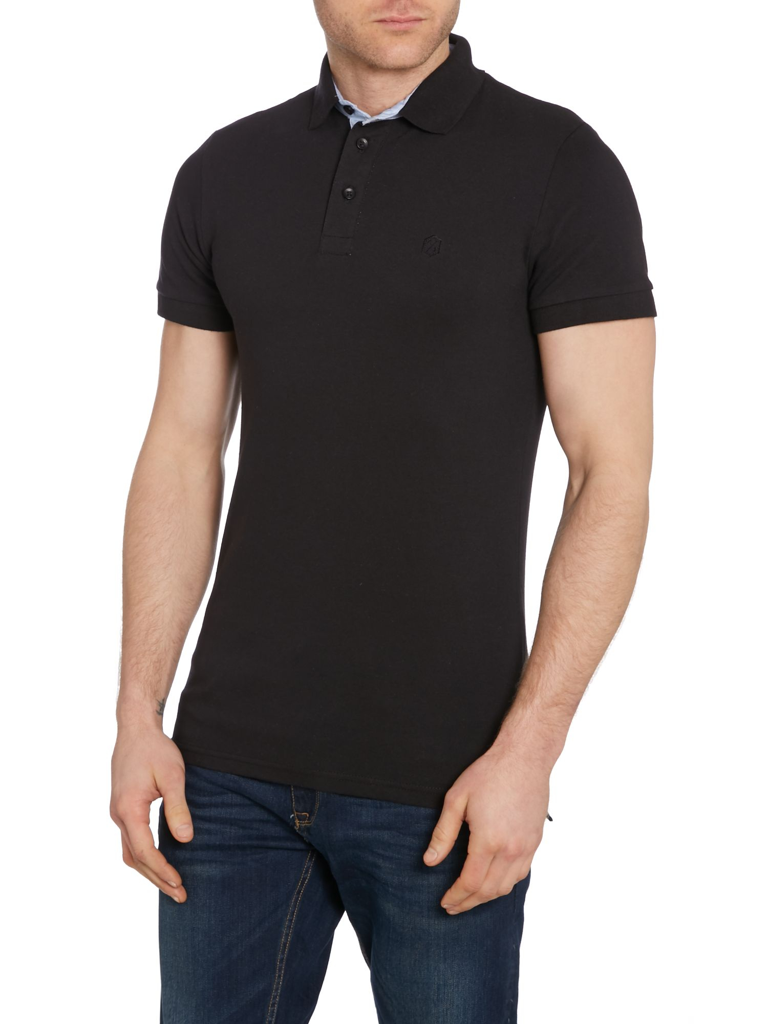 Casual Friday Polo - black DUFnKqwY