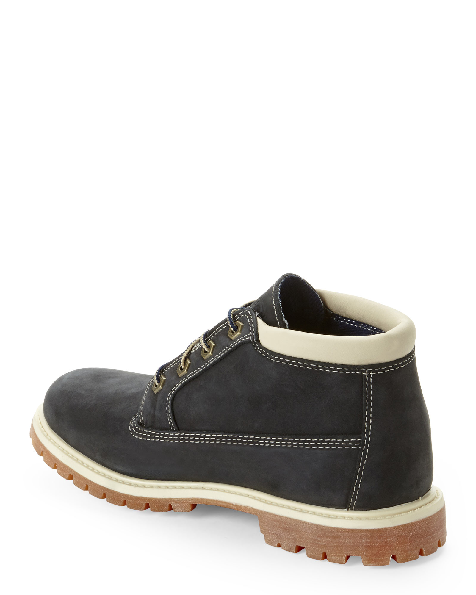 Lyst Timberland Navy Nellie Chukka Boots In Black For Men