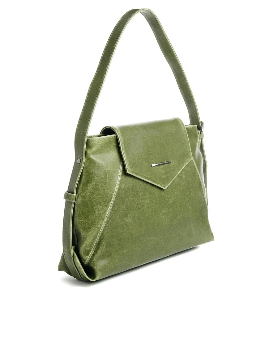 Matt & nat Vintage Green Hobo Bag in Green | Lyst