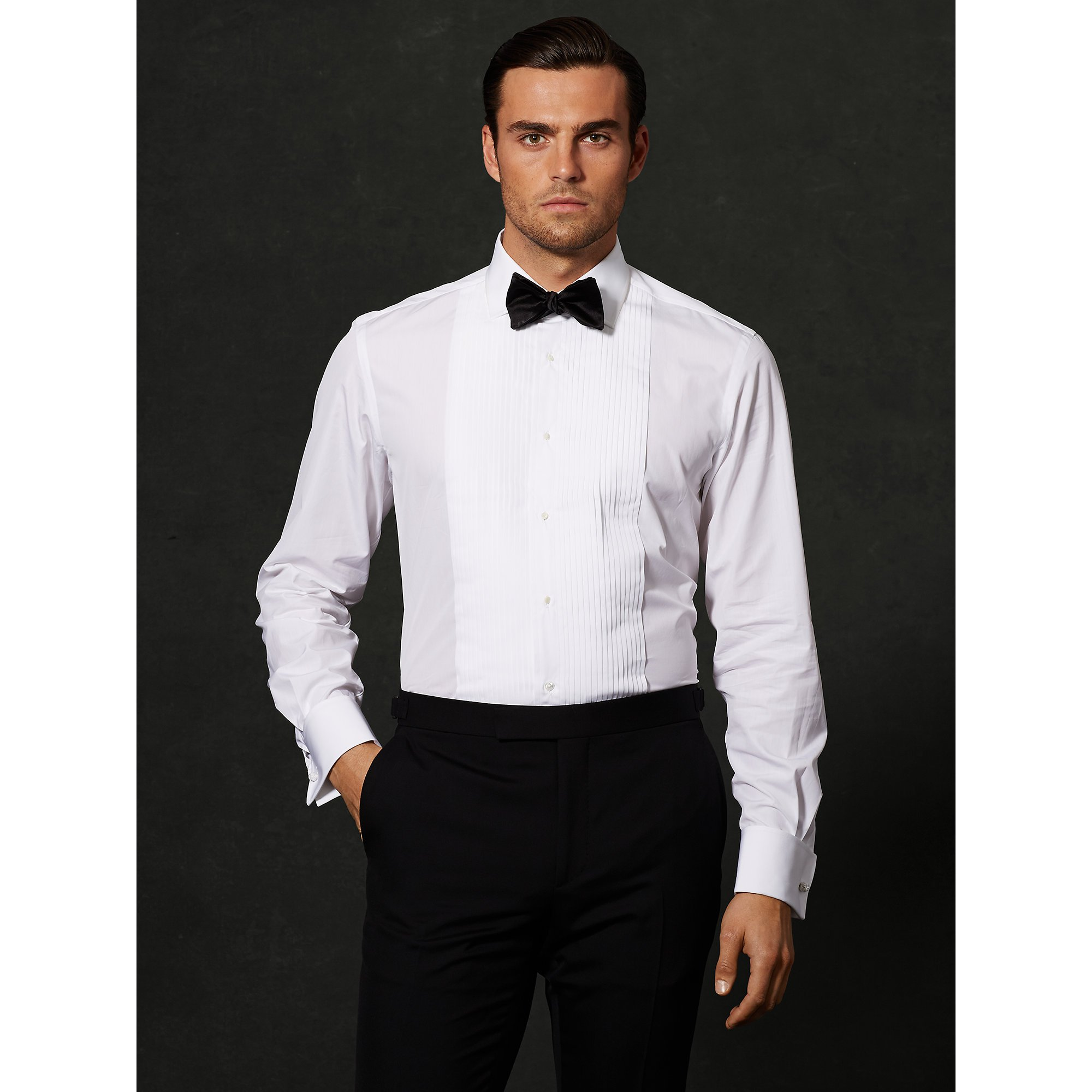 Lyst Ralph Lauren Purple Label Pleated Aston Tuxedo