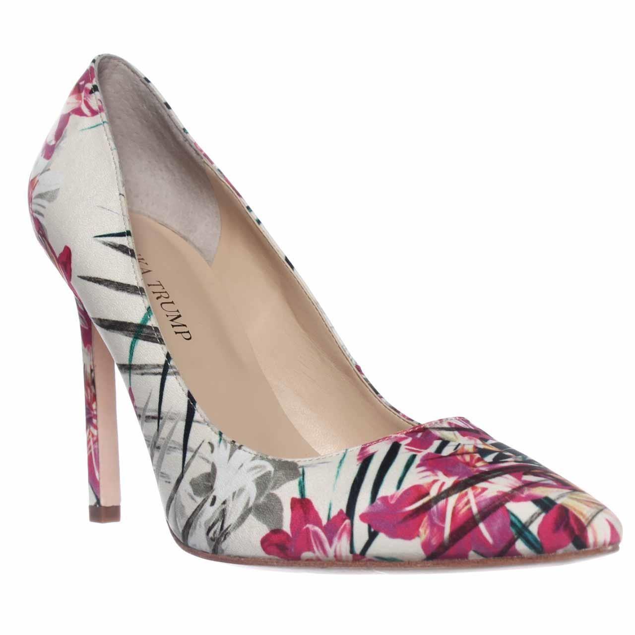 Ivanka trump Carra3 Pointed-toe Classic Pump Heels in Pink | Lyst
