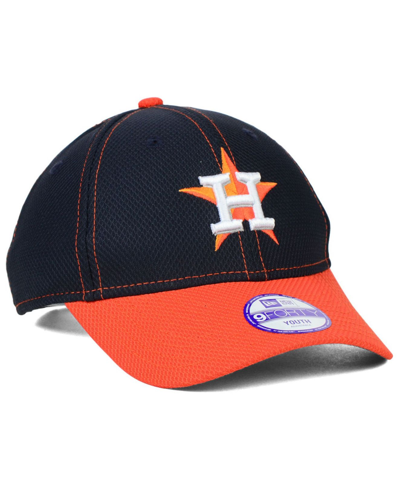 08649aa7c86 ... inexpensive lyst ktz kids houston astros 9forty cap in blue 14c88 7f008