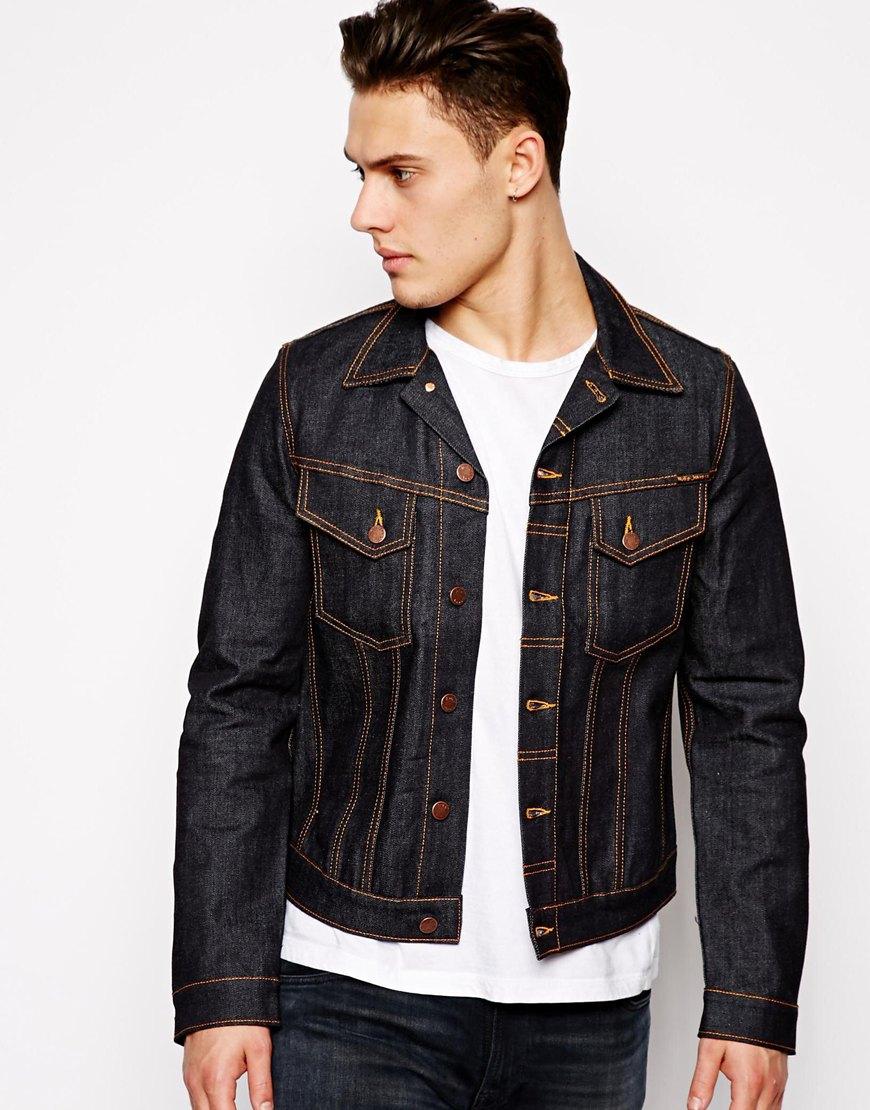 Nudie jeans Nudie Denim Jacket Perry Organic Dry Comfort ... - photo#20